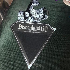Disneyland 60th trading pin pouch